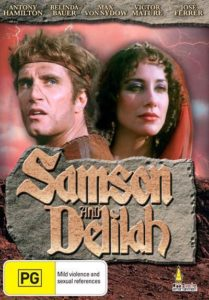 SAMSON AND DELILAH Brandon Scott ABC Movie of the Week